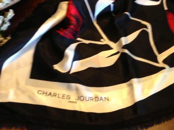 Dior & Jourdan pure silk shawls