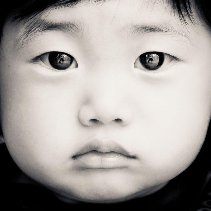 """Wonder what this kid is thinking about?    """"Baby Face B/W"""" by Adam Shul, via 500px.  """"The Baby's Best Friend!"""""""