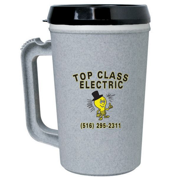 You Are Sure To Turn Some Heads With Your Brand Paired This Thermo Insulated Mug 22 Oz Bpa Free Has A Matte Finish Double Wall