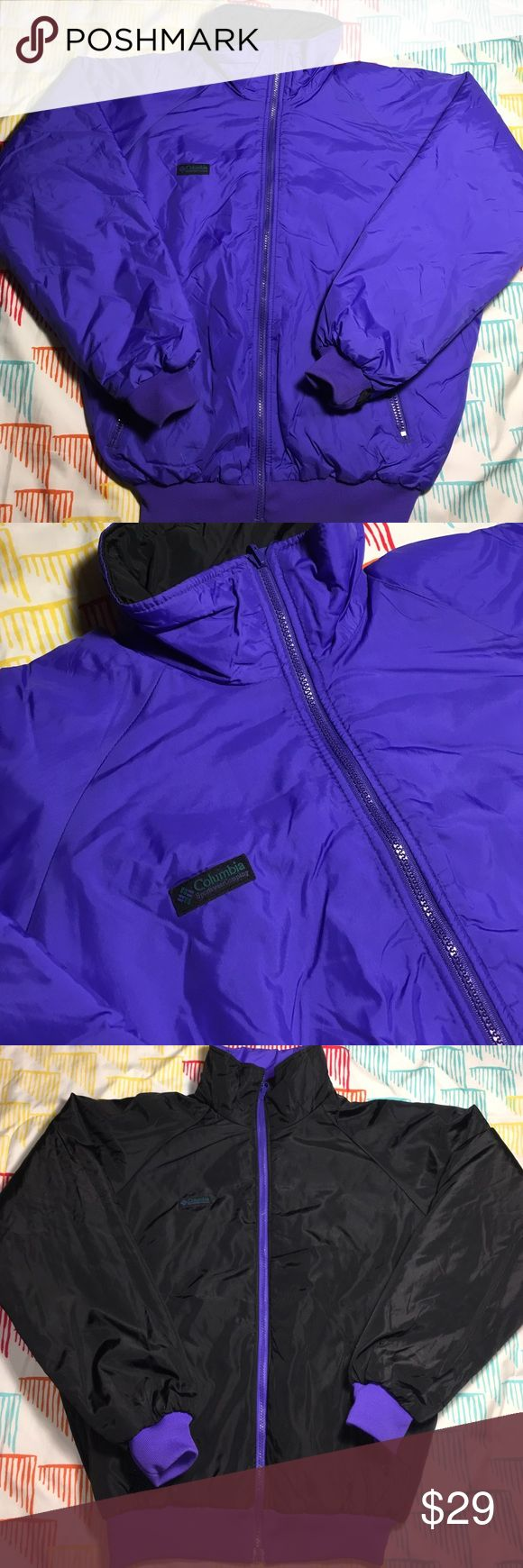 Columbia Sportswear Reversible Down Ski Jacket Size Around medium (size tag not attached )  - Condition 9.5/10 Columbia Jackets & Coats