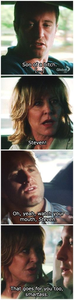Cargument between Danny and Doris (ep 3x01) # MCDANNO # 3.01 # LLDL  GO MOMMA MCGARRET