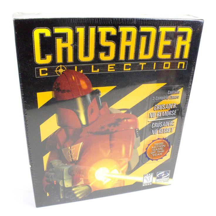 Crusader Collection for PC CD-ROM, Crusader: No Remorse, No Regret, BNIB