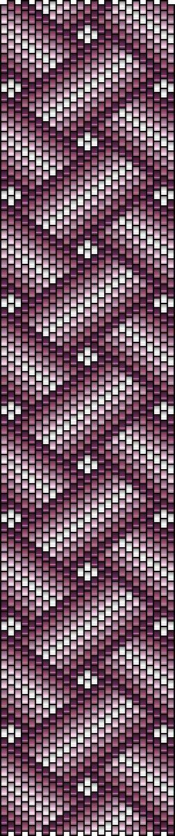 criss cross flat peyote pattern