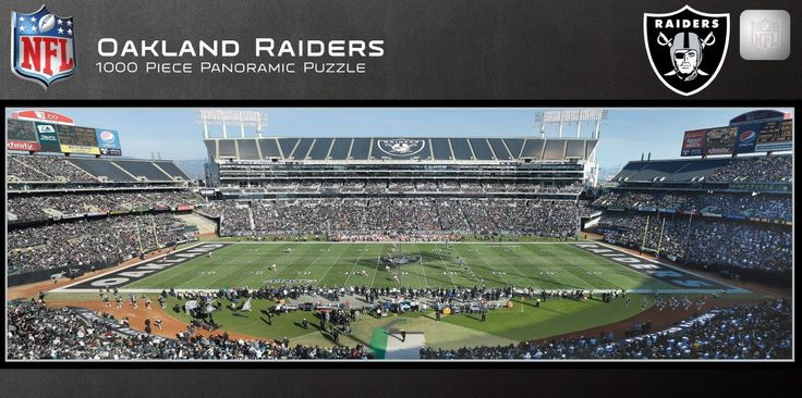 NFL Oakland Raiders - 1000 Piece Jigsaw Puzzle