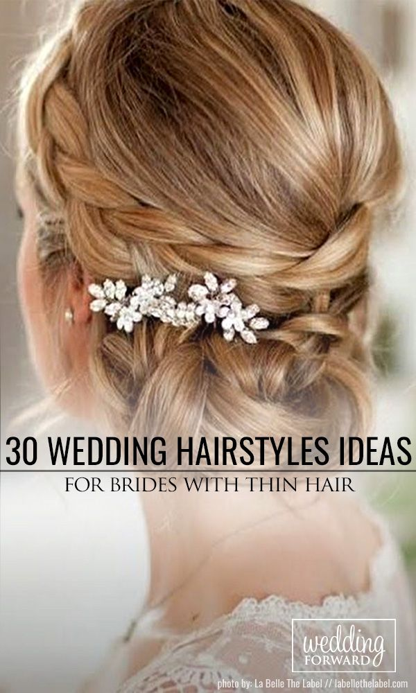 Best 25+ Thin hair updo ideas on Pinterest | Medium hair ...