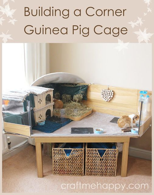 Building a corner DIY C and C style guinea pig cage with a Perspex front | Craft me Happy!: Building a corner DIY C and C style guinea pig cage with a Perspex front
