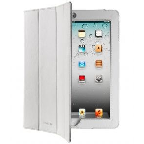 Husa Cellularline BookCase Alba iPad2/3/4 - Huse