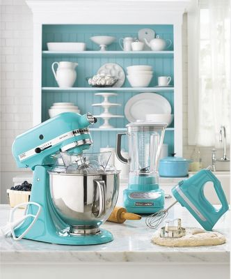 Tiffany Blue KitchenAid!