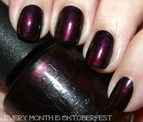 What's On My Nails: OPI Every Month Is Oktoberfest – myfindsonline.com