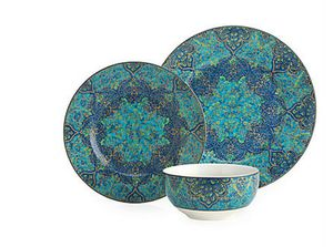 9 Colorful Dinnerware Designs That Belong on Your Table: Ibiza Dinnerware | Z Gallerie