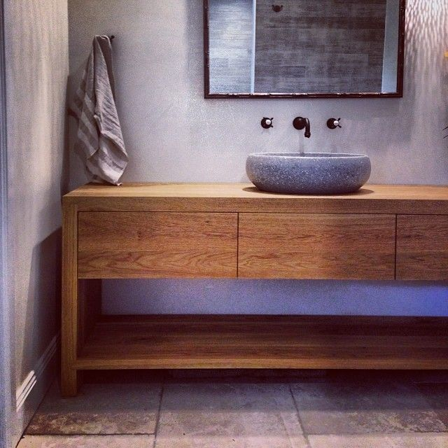 love this bathroom vanity - Mark Tuckey