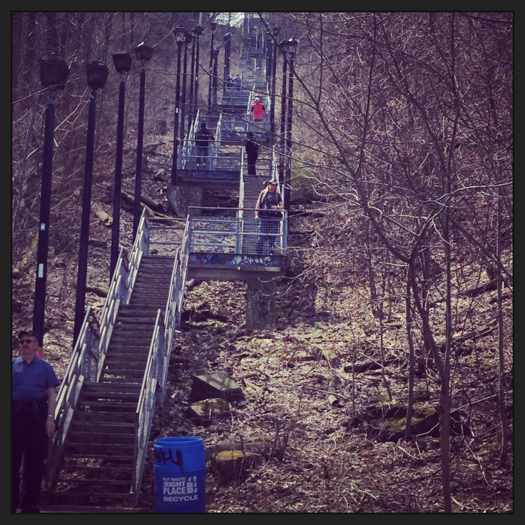 Outdoor workout are my new summer obsession. Wentworth stairs are a classic!