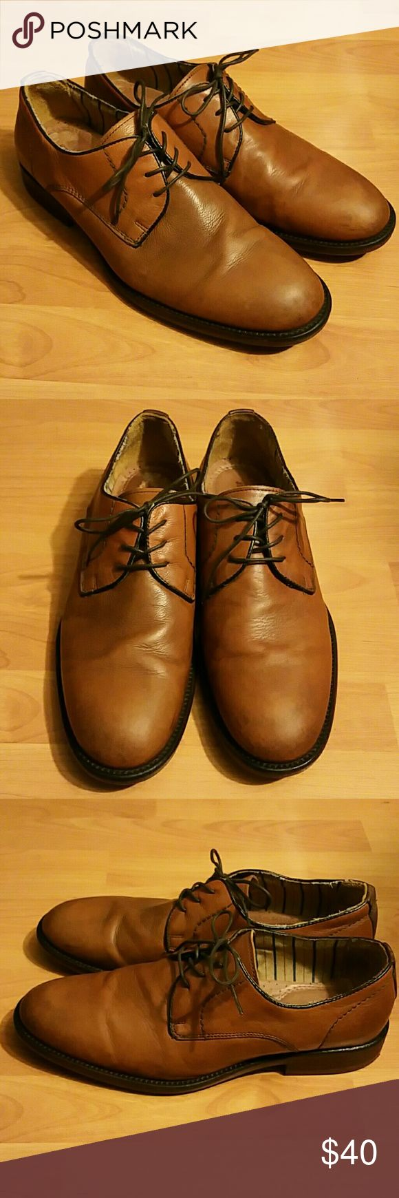 Johnston & Murphy brown oxford shoes Size 10. Good condition. Johnston & Murphy Shoes Oxfords & Derbys