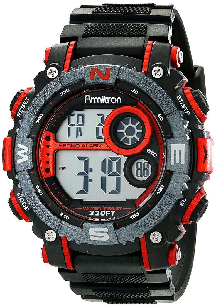 Armitron Sport Men's 40/8284 Digital Chronograph Resin