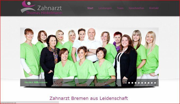 Professionelle Webseite Zahnarzt Bremen