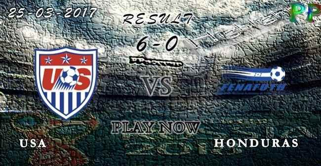 VIDEO USA 6 - 0 Honduras HIGHLIGHTS 25.03.2017 | PPsoccer