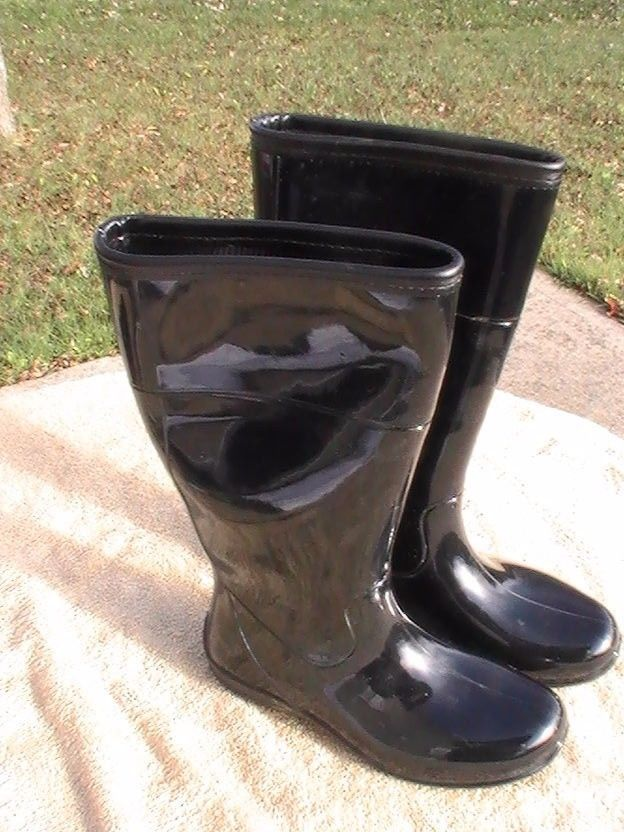 """Itasca Womens 14"""" Splashers Rubber Boots Size 7 #ITASCA #MidCalfBoots"""