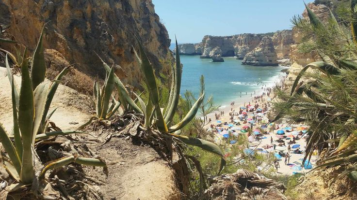 Lagao - Algarve - Praia da Marinha in the afternoon