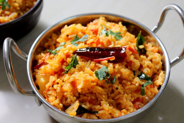 Tomato rice is a traditional south indian rice recipe made using tomato flavors mixed up with cooked white rice.Its a common breakfast or lunch rice recipe.