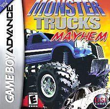 Monster Trucks Mayhem - Game Boy Advance Game