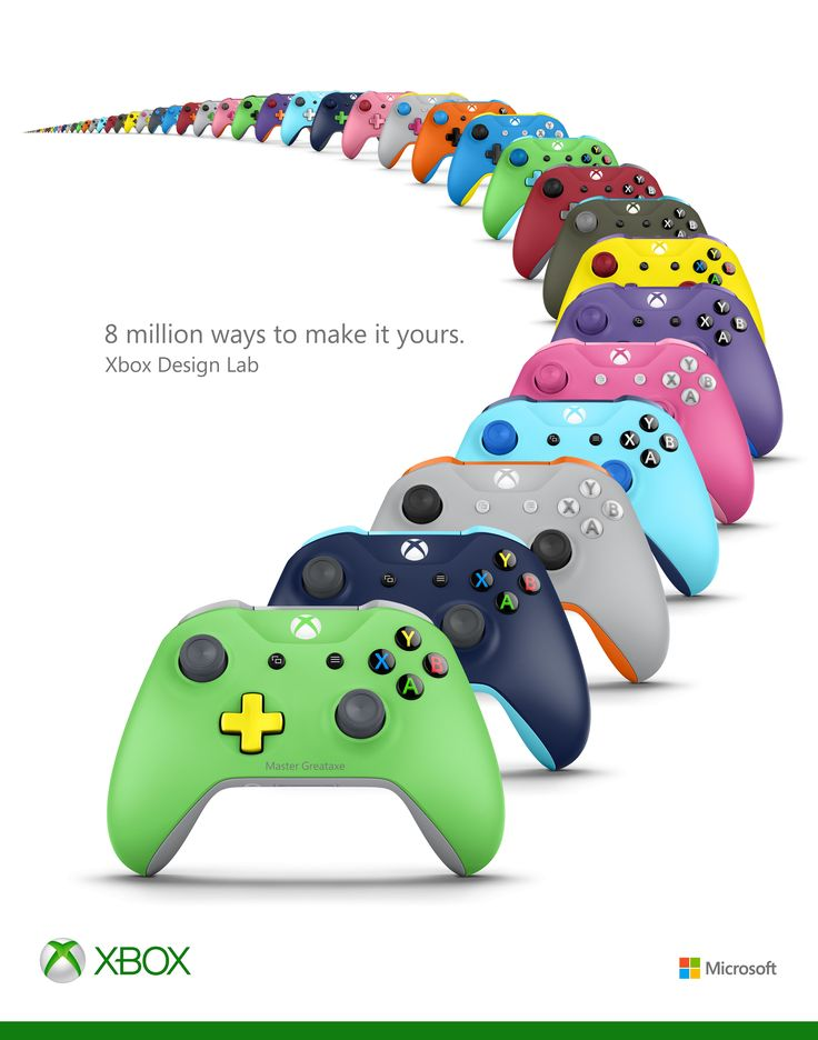 A closer look at all of the new Xbox controllers shown off today | Polygon                                                                                                                                                                                 More