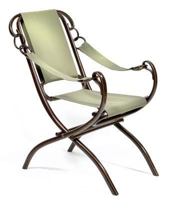 Unique A fold out Thonet armchair No