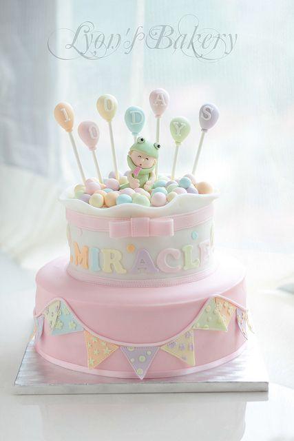 Baby Shower Cake or Birthday Cake