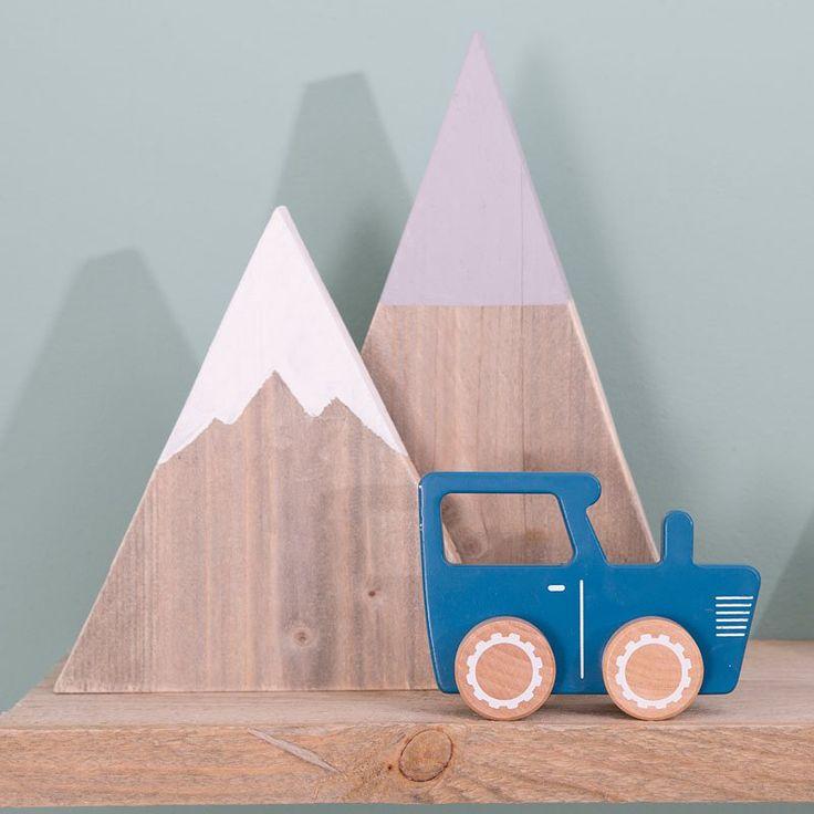 TIAMO Traktor modrý   Kašpárek Baby