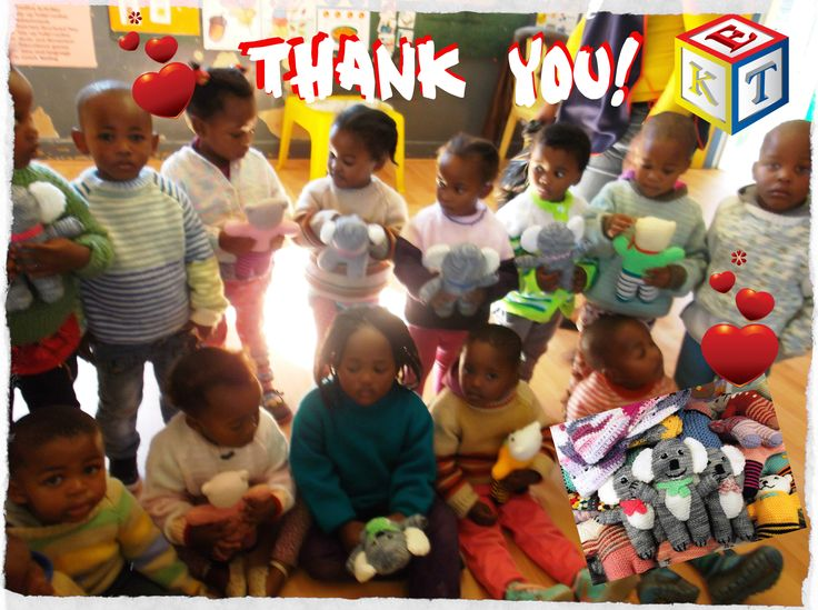 It is wonderful to receive donations from across the globe. Jerseys from the UK, blankets and teddies from Australia. The preschoolers truly enjoy these gifts.