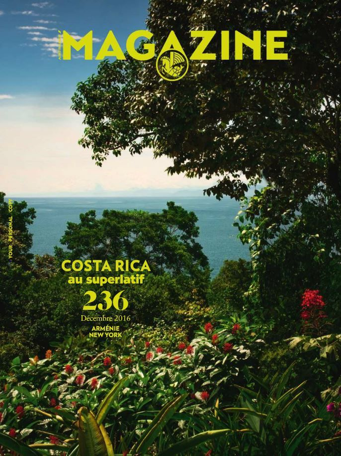 Air France Magazine - N°236 - Costa Rica - December 2016 #Travel
