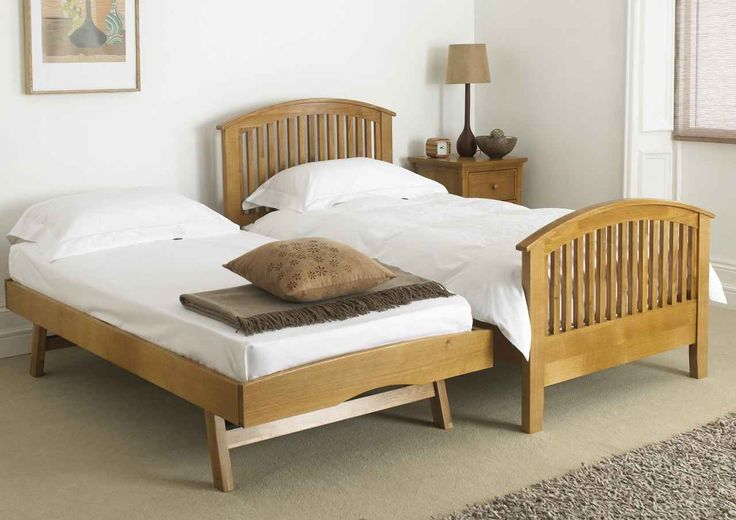 Wooden Trundle with folding legs