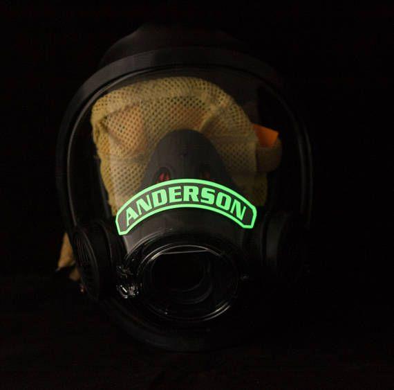 IdentiFire SCOTT máscara facial Label