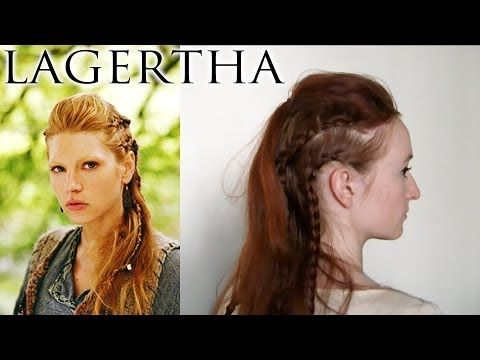 ▶ Vikings Hair - Lagertha - YouTube
