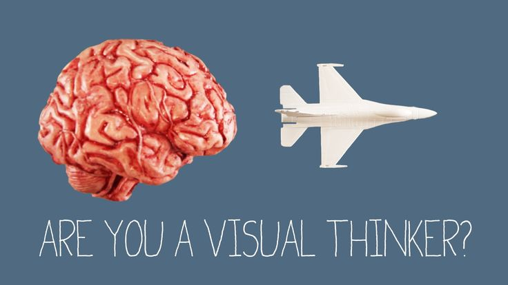 What Kind Of Thinker Are You? Visual Thinker. You think in pictures, and you understand all things spatial. You're a visual thinker, and that's awesome. Le I know that.