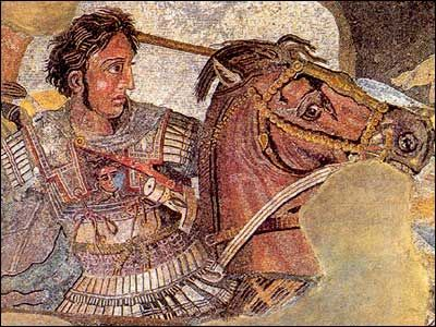 The Alexander mosaic at the Battle of Issus. Pompeii is hauntingly beautiful. Rosemarie Visconti/CYF