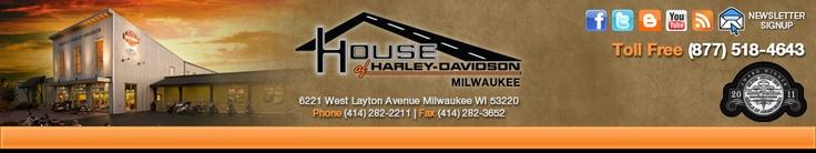 Wisconsin Harley-Davidson Motorcycle Dealer - House of Harley-Davidson - Milwaukee Buell