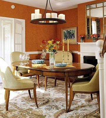 Dining room light: Living Rooms, Trav'Lin Lights, Color, Rooms Ideas, Rooms Lights, Orange Dining Rooms, Candles Chandeliers, House, Formal Dining