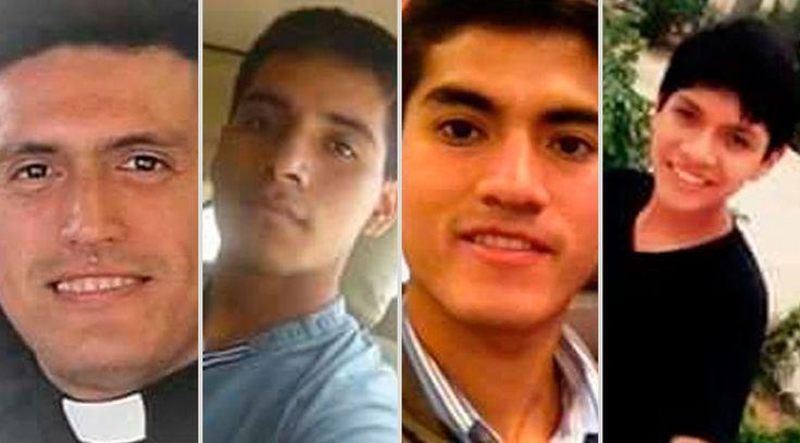 El P. Marco Antonio Dávila Montalvo y el seminarista Ronaldo Alvarado Moreno, fallecieron ahogados ayer en la tarde en la playa de Las Delicias, en el departamento de Trujillo, en Perú.