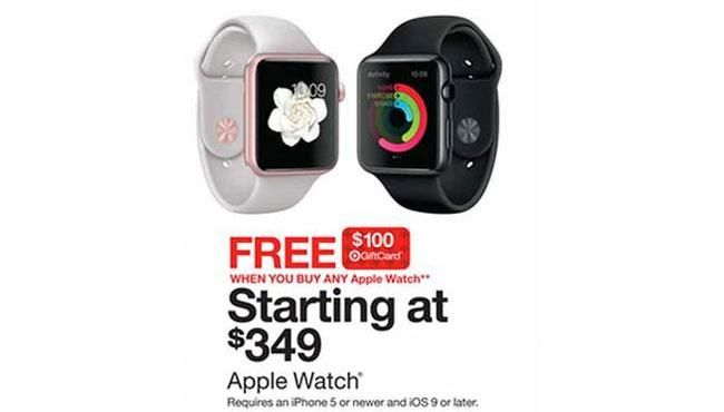 Best Black Friday Apple Watch Deal Goes On Sale Wednesday in Target Black Friday 2015 Sale