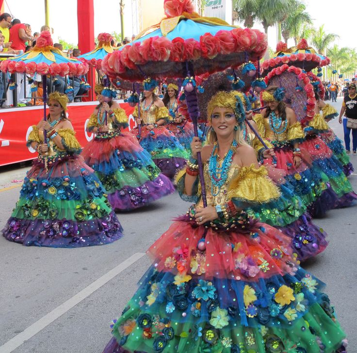 February is Carnival time in the Dominican Republic