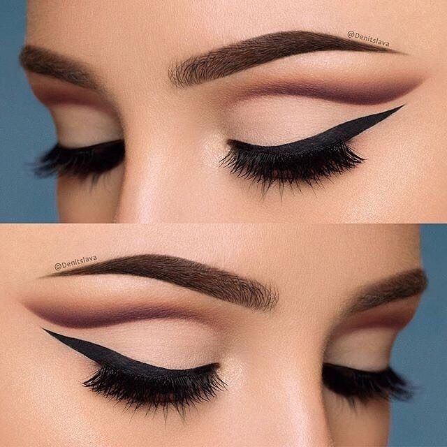In LOVE with @denitslava's perfect #cutcrease using our Warm Neutrals Palette!  #SigmaBeauty