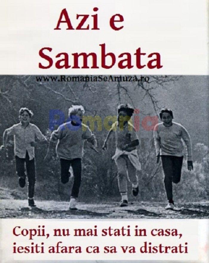 Azi e Sambata, poze funny cu copii