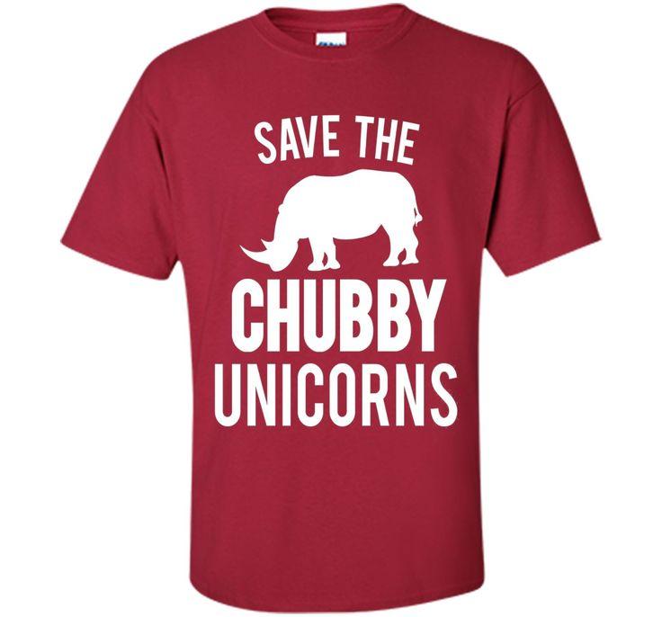 Chubby Unicorn T-Shirt Funny Sarcasm Fun cool shirt