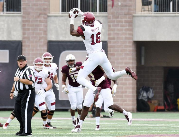 """The Sun Belt Conference isn't exactly known for producing top-end NFL talent, but New Mexico State has a wide receiver that has the size NFL teams dream about. Making national headlines from an insane one-handed touchdown grab against Arizona State, Jaleel Scott has quickly garnered the attention of college football fans and NFL Draft enthusiasts. Profile Jaleel Scott 6'6"""" 215lbs RS-Senior 2 star by 247 Sports and Rivals Hometown: Rock Hill, SC Background Originally recruited …"""