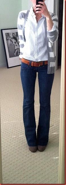 Listras e jeans...um charme!