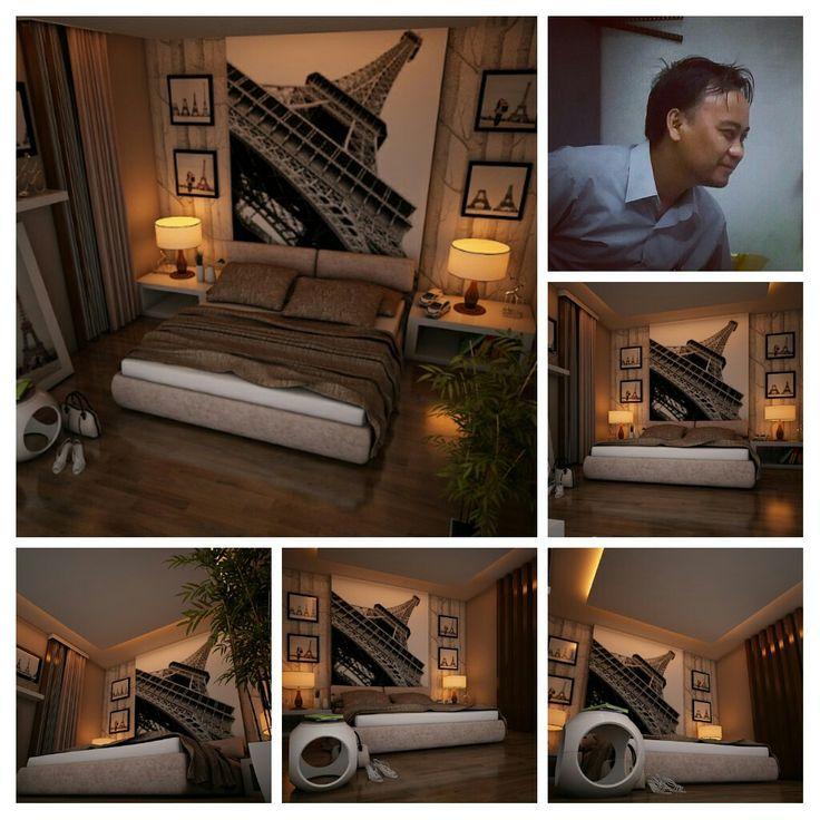 My render ruang tidur