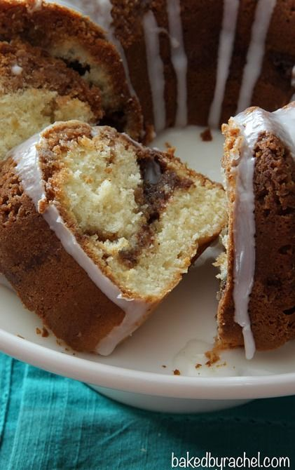 Cinnamon Streusel Coffee Bundt Cake