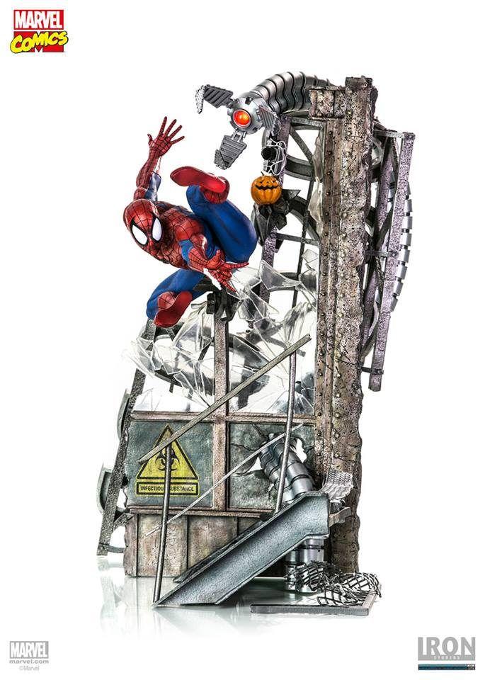 【完整官圖、販售資訊更新】Iron Studios【蜘蛛人】Sipder-Man 1/4 比例 全身戰鬥場景雕像 | 玩具人Toy People News