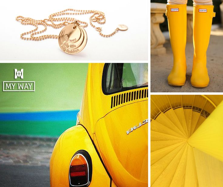 Jewellery, Yellow me :-)