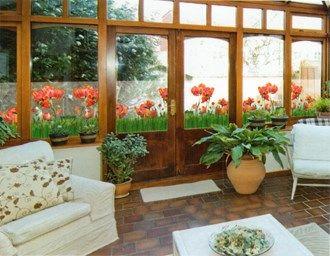 Vindusfolie  Jordi 70cm X 1,5m- en folie med trukk på som hindrer innsyn og dekorerer vinduene!